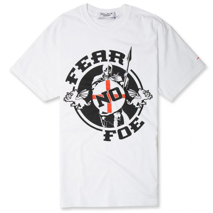 "England T-shirt -  ""Fear No Foe"""